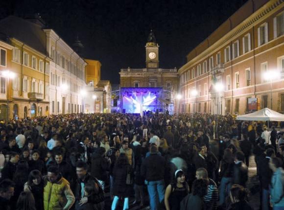 Arisa sul nostro palco con copertura alla Notte d'Oro 2017 di Ravenna!